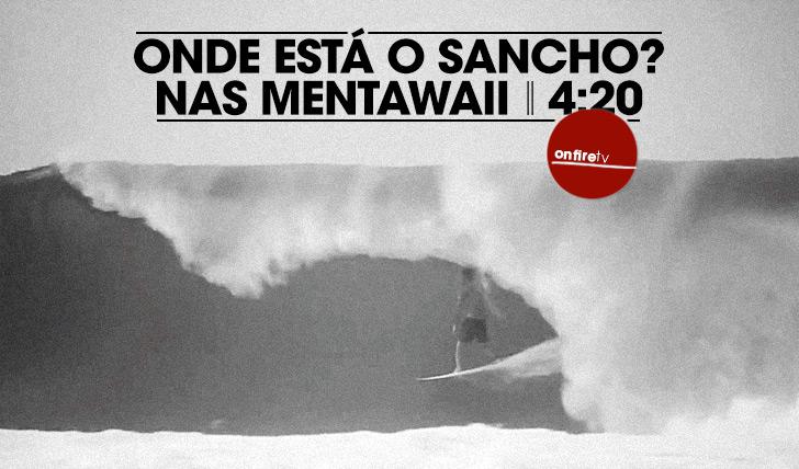 20273Onde está Sancho? Nas Mentawaii!
