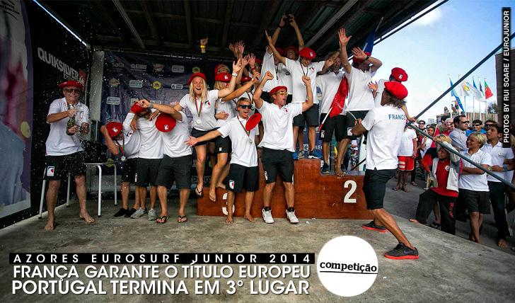 20178França vence Eurosurf Junior | Portugal em 3º lugar