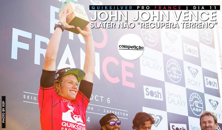 """20489John John vence em França   Slater não recupera """"terreno"""""""