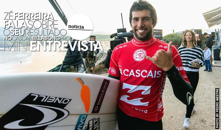 20652Zé Ferreira fala sobre o seu resultado no Cascais Billabong Pro | Mini-Entrevista