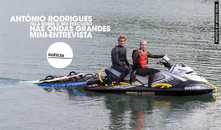 21688António Rodrigues fala sobre o seu percurso nas ondas grandes | Mini-Entrevista