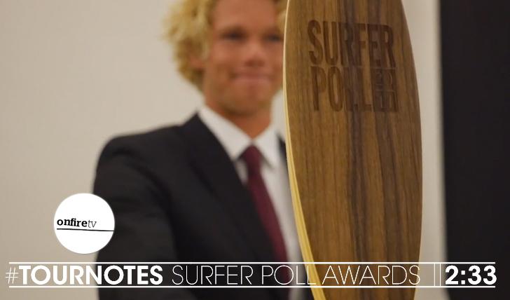 22069#Tournotes   SURFER Poll Awards    2:33