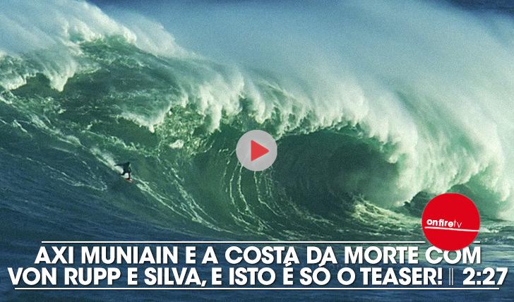 22872Axi Muniain apresenta o teaser da Costa da Morte, com Von Rupp e Silva || 2:27