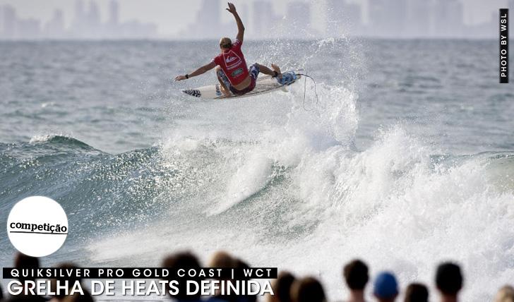 23400Os heats do primeiro WCT do ano | Quiksilver Pro Gold Coast