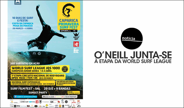 23754O'Neill junta-se à etapa da World Surf League