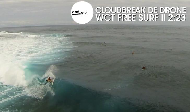 24242Cloudbreak de Drone | WCT Free surf || 2:23
