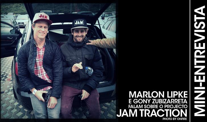 24475Gony e Marlon falam sobre o projecto JAM TRACTION