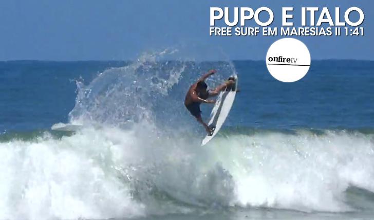 24360Italo e Pupo | Free surf em Maresias || 1:41