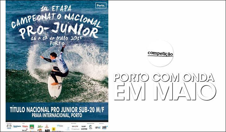 """24709""""Porto com Onda"""" realiza-se em Maio"""