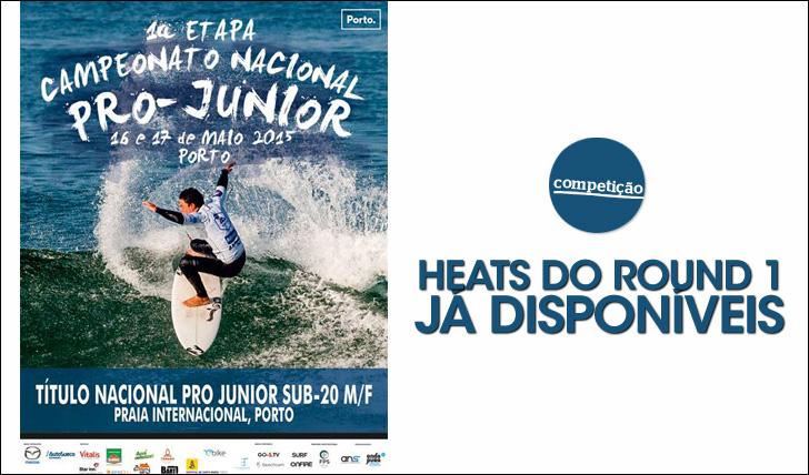 24830Heats da primeira etapa do Pro Junior 2015 já estão disponíveis