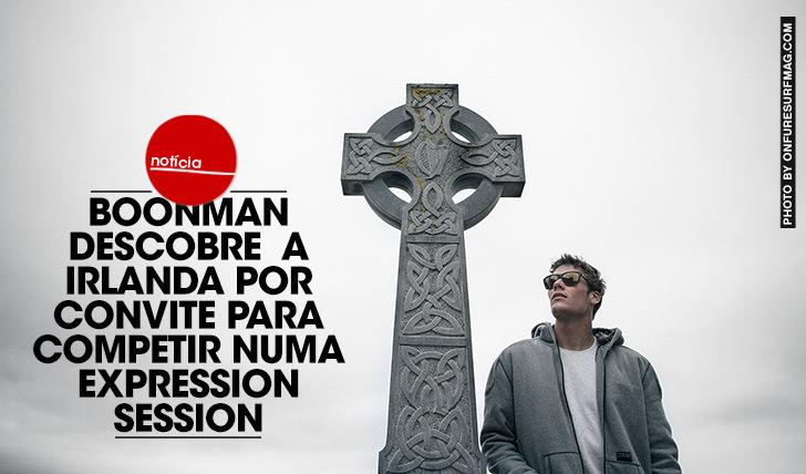 25700Boonman descobre a Irlanda por convite para competir no Expression Session