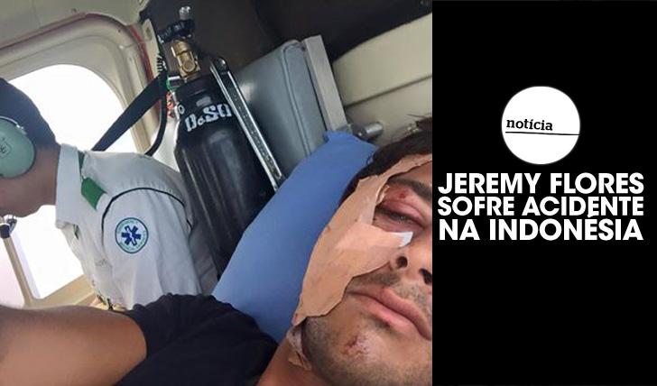 25468Jeremy Flores sofre acidente na Indonésia