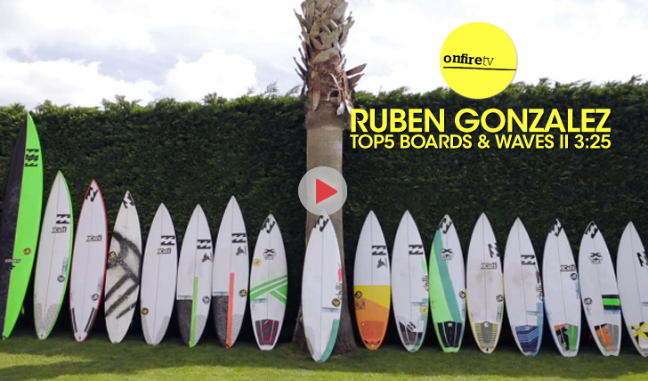 25292Ruben Gonzalez | Top5 Waves & Boards || 3:25