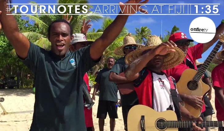 25269#Tournotes | Arriving at Fiji || 1:35