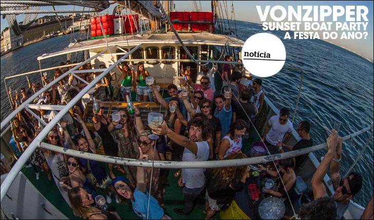 25501VonZipper Sunset Boat Party | A festa do ano?