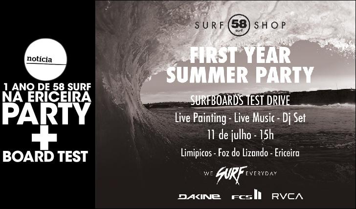 25826First Year Summer Party celebra o primeiro ano de 58 Surf na Ericeira