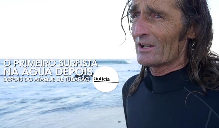 26051O primeiro surfista na água em JBay depois do ataque…
