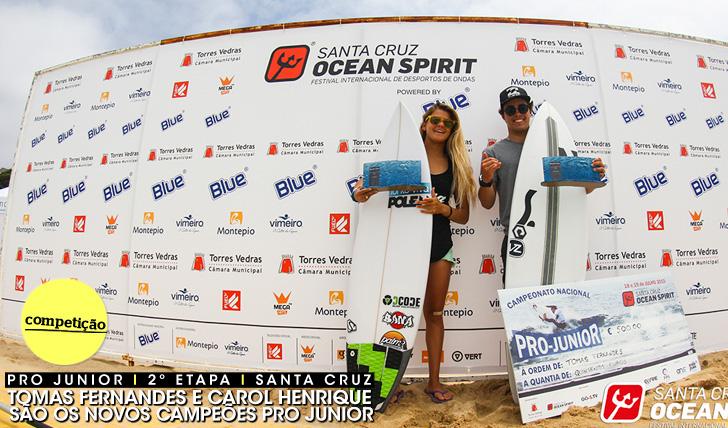 26019Tomas Fernandes e Carol Henrique são os novos campeões Pro Junior