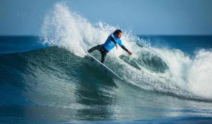 Miguel Blanco ficou a necessitar de uma segunda onda boa para passar para a próxima fase.