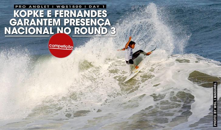 26679Kopke e Fernandes garantem presença nacional no round 3