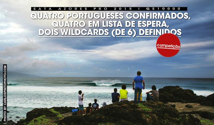 267374 portugueses confirmados, 4 em espera e dois wildcards definidos para SATA Azores Pro 2015!