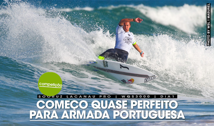 26493Começo quase perfeito para armada portuguesa no WQS de Lacanau