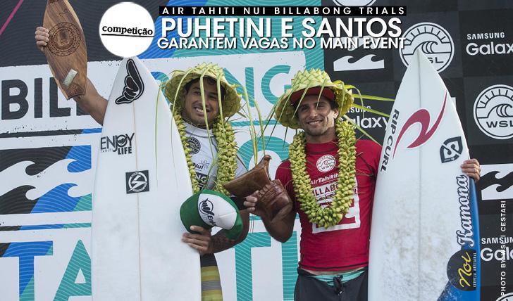 "26367Puhetini e Santos juntam-se ao ""draw"" do Billabong Pro Tahiti"