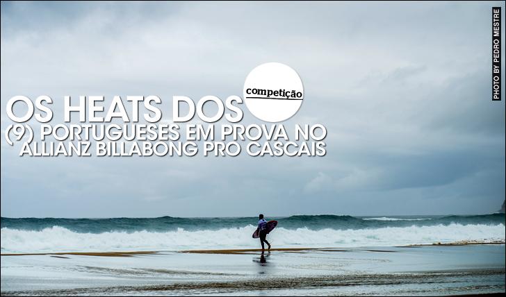27370Os heats dos (9) portugueses no Allianz Billabong Pro Cascais