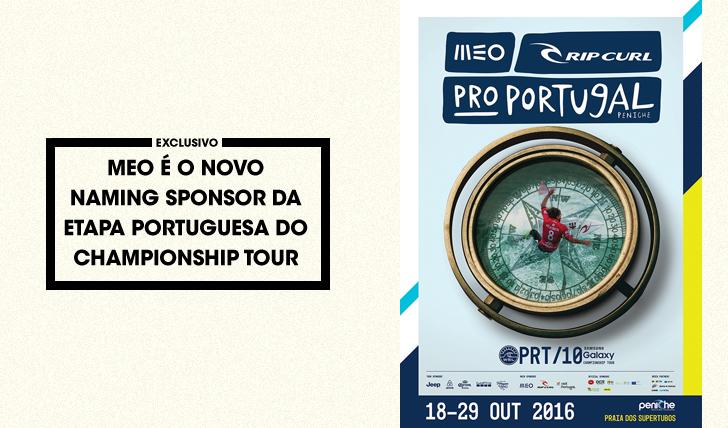 33515MEO é o novo naming sponsor da etapa portuguesa do Championship Tour