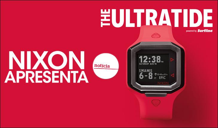 26929Nixon apresenta Ultratide, o relógio de surf mais inteligente do mundo