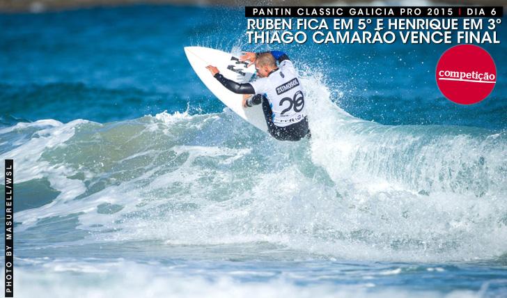26894Camarão vence final 100% brasileira no Pantin Classic Galicia Pro | Henrique em 3º, Ruben em 5º