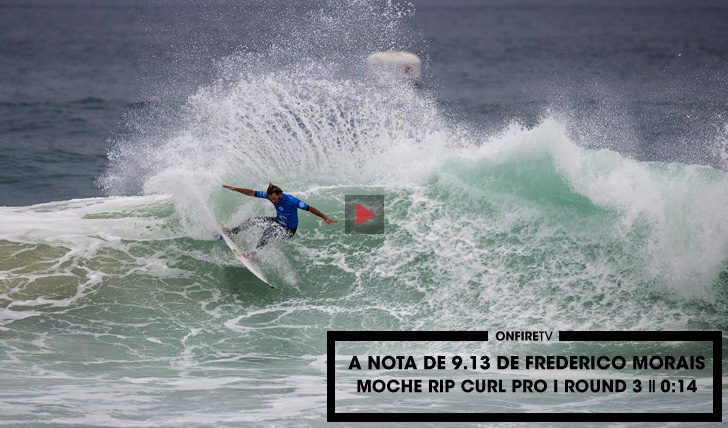 28206A nota de 9.13 de Frederico Morais no round 3    0:27