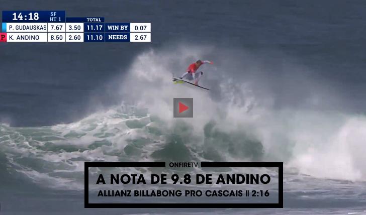 27535A nota de 9.8 de Andino | Allianz Billabong Pro Cascais || 2:15