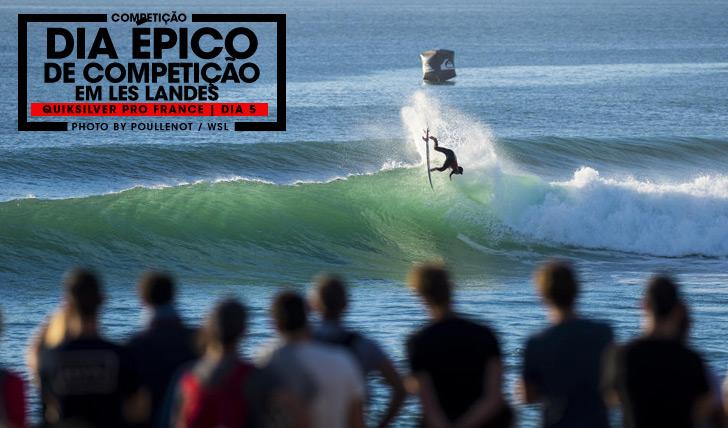 27709Dia épico de surf no Quiksilver Pro France   Dia 5