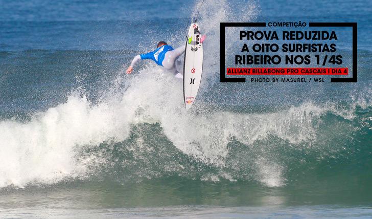 27500Prova reduzida a 8 surfistas no Allianz Billabong Pro Cascais