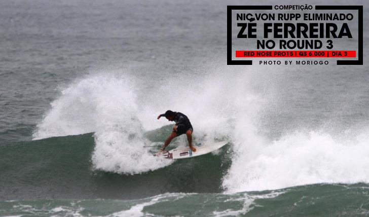 28074Zé Ferreira no round 3 do Red Nose Pro15 | Dia 3