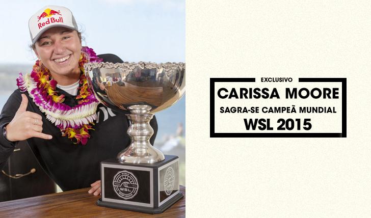 28871Carissa Moore sagra-se campeã mundial de 2015