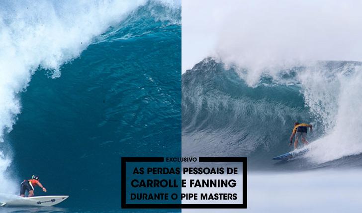 29129Fanning e Carroll, dois surfistas que sofreram grandes perdas pessoais durante o Pipe Masters