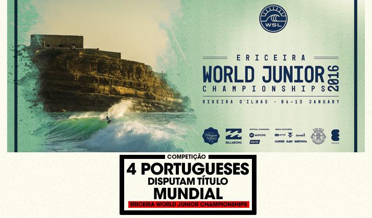 291984 portugueses disputam título mundial no Ericeira World Junior Championships