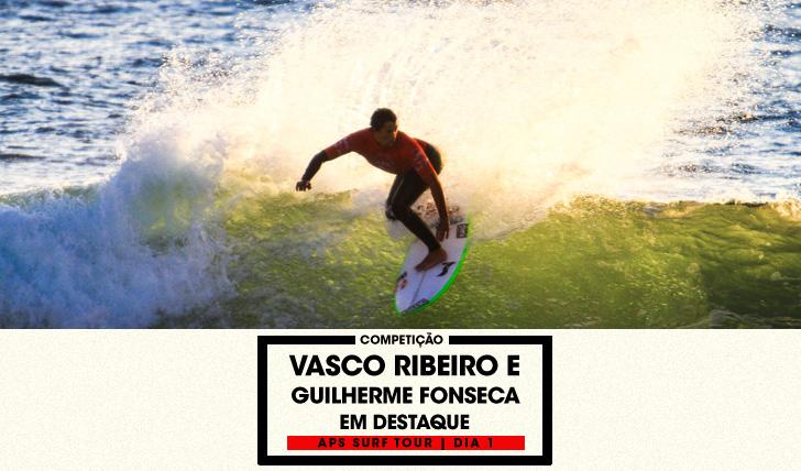 29488Ribeiro e Fonseca brilham no dia 1 do APS Surf Tour