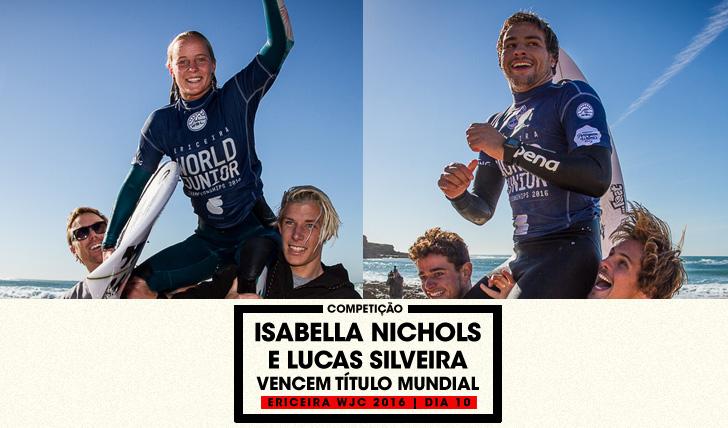 29413Lucas Silveira e Isabella Nichols são os novos campeões mundiais júnior da WSL