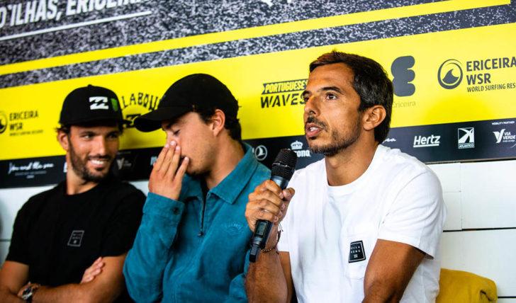 """54997Frederico """"Iko"""" Teixeira fala sobre o processo de organizar uma etapa da WSL em Portugal"""