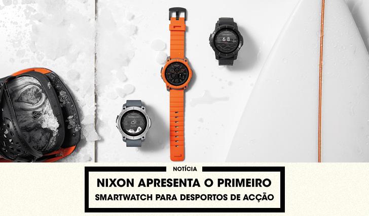 30549Nixon apresenta o primeiro smartwatch direccionado aos desportos de acção