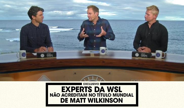 30978Experts da WSL não acreditam no título mundial de Wilkinson