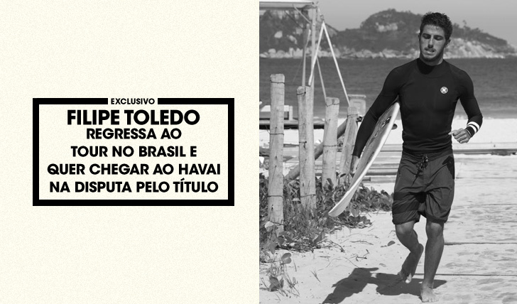30999Toledo regressa ao CT no Brasil e quer chegar ao Havai na disputa pelo título