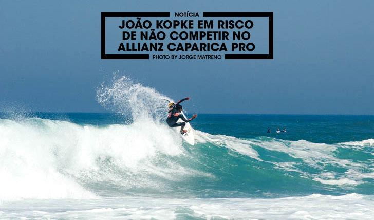 30867João Kopke em risco de não competir no Allianz Caparica Pro