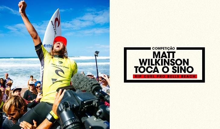 30791Matt Wilkinson toca o sino…