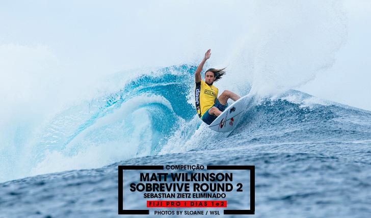 "31822Matt Wilkinson ""sobrevive"" ao round 2 do Fiji Pro"