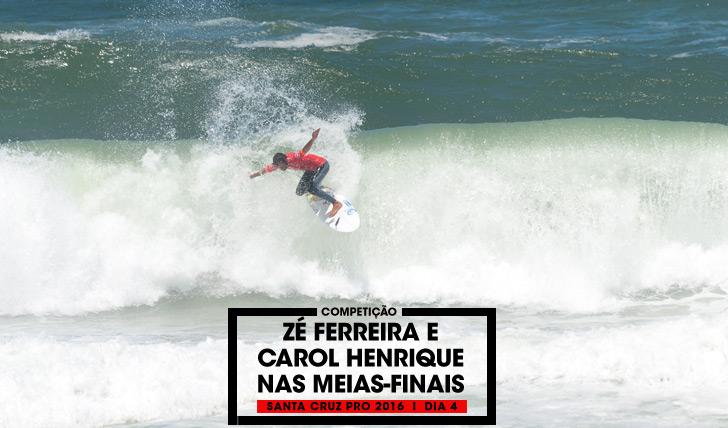 32562Zé Ferreira e Carol Henrique nas meias finais do Santa Cruz Pro 2016