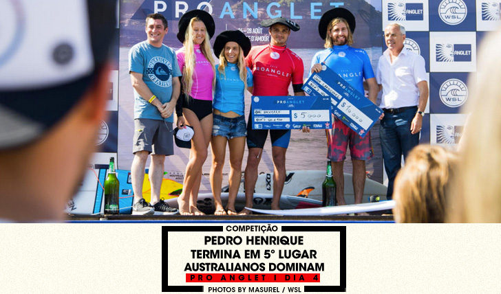 33316Pedro Henrique em 5º lugar no Pro Anglet | Australianos dominam